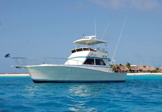 Scuba Boot naar Klein Curaçao