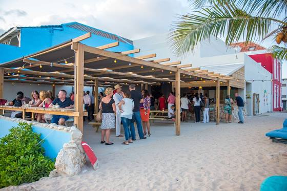 One of the Happy Hours at the Beach Bar