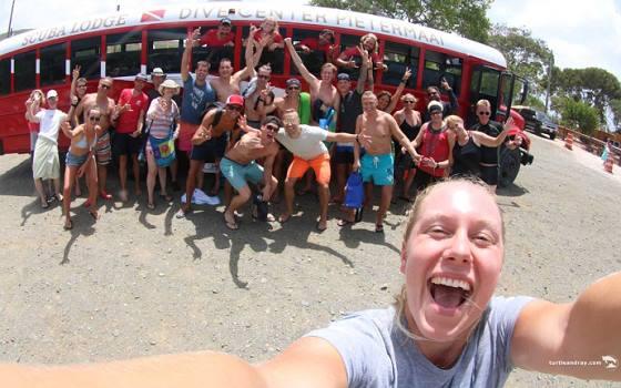 Westpunt - participants Scuba Lodge dag trip