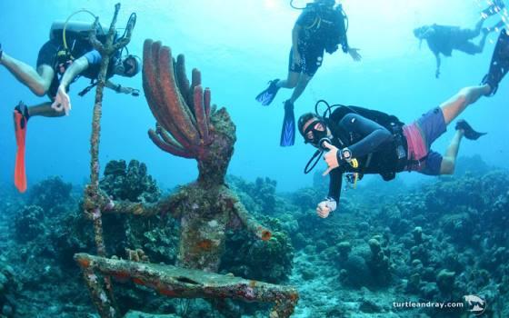 Westpunt - duikers en koraal