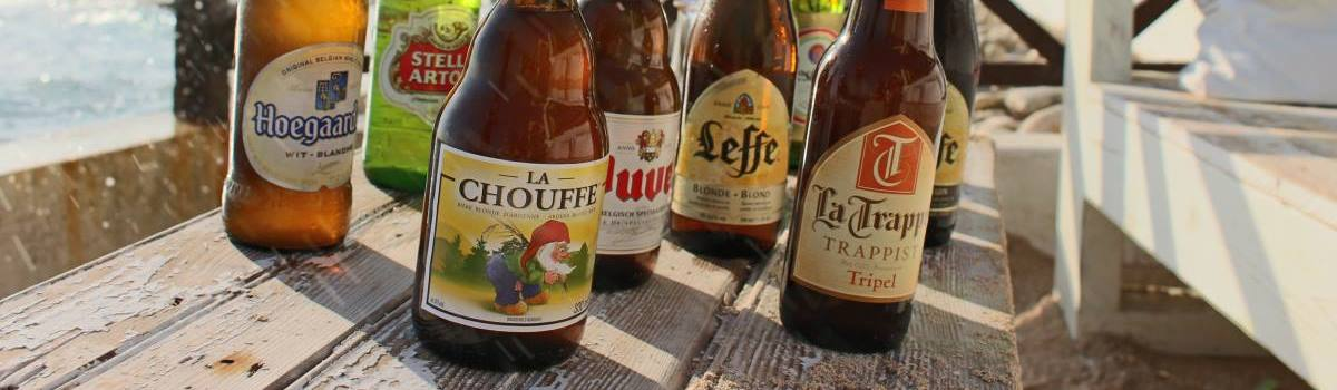 Special Beers from example Belgium and Mexico