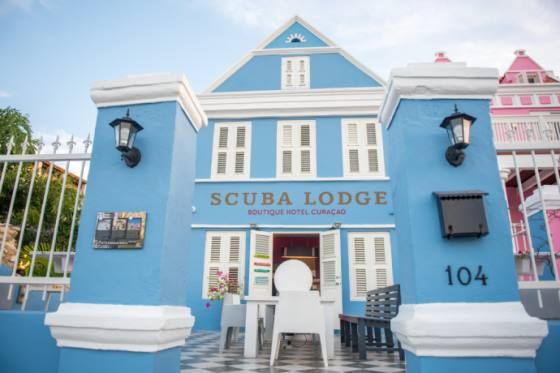 Entrance Boutique Hotel Scuba Lodge