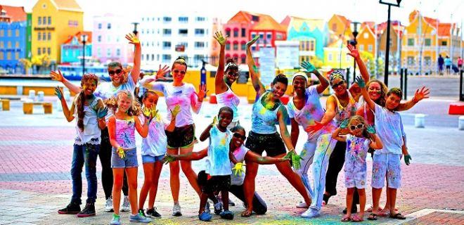 Geef je vakantie kleur met de Curaçao Color Walk 2018