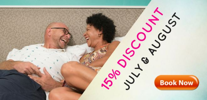 15% Discount in July and August