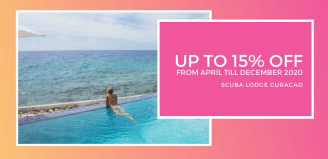 Early Bird Offer: Save 15% at Scuba Lodge Curaçao