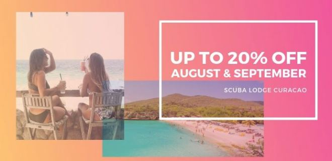 20% Summer Discount in August and September