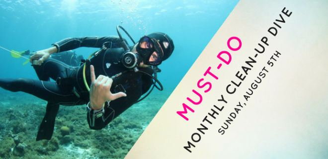 Join our Monthly Clean-Up Dive