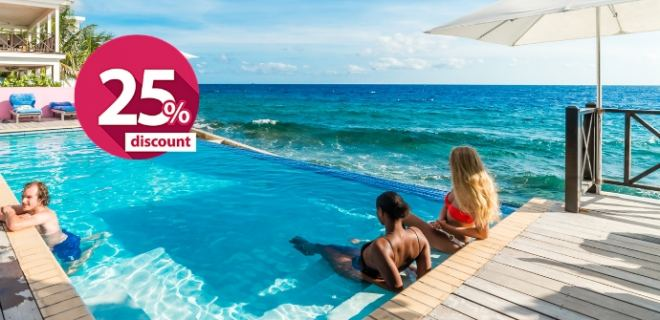 Do you want to save 25% on your next vacation to Curaçao?